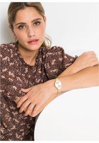Złoty zegarek bonprix analogowy