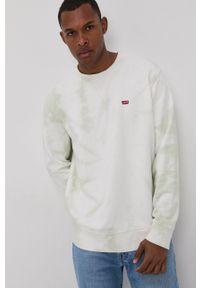 Levi's® - Levi's - Bluza bawełniana. Okazja: na co dzień, na spotkanie biznesowe. Kolor: zielony. Materiał: bawełna. Styl: casual, biznesowy