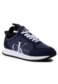 Niebieskie buty sportowe Calvin Klein Jeans