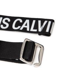 Calvin Klein Jeans - Pasek Męski CALVIN KLEIN JEANS - Slider Tape Belt 35Mm K50K506554 BDS. Kolor: czarny. Materiał: materiał