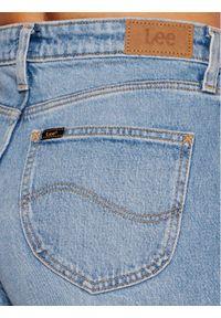 Lee Jeansy L30SMWKP Niebieski Wide Leg. Kolor: niebieski
