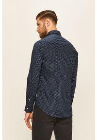 Niebieska koszula Polo Ralph Lauren długa, elegancka
