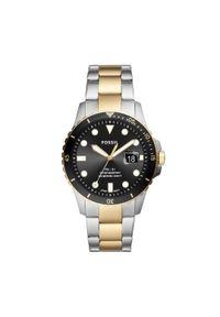 Srebrny zegarek Fossil vintage