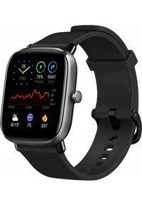 AMAZFIT - Smartwatch Amazfit GTS 2 Mini Czarny (ZEG-SMW-0084). Rodzaj zegarka: smartwatch. Kolor: czarny