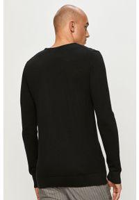 Czarny sweter Clean Cut Copenhagen z długim rękawem, na co dzień, długi