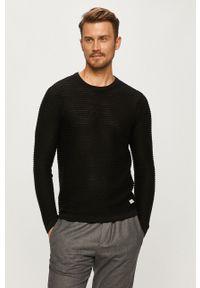 PRODUKT by Jack & Jones - Produkt by Jack & Jones - Sweter. Okazja: na co dzień. Kolor: czarny. Materiał: dzianina. Styl: casual