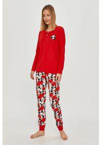 Czerwona piżama Answear Lab długa