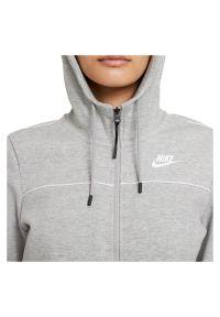 Bluza damska Nike Sportswear Millenium Fleece CZ8338. Typ kołnierza: kaptur. Materiał: bawełna, materiał, poliester. Wzór: ze splotem, gładki