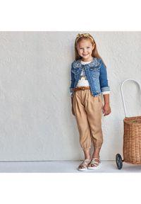 Mayoral Spodnie materiałowe 3552 Brązowy Regular Fit. Kolor: brązowy. Materiał: materiał
