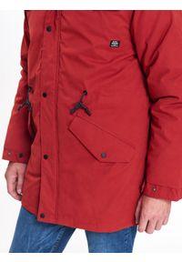 Pomarańczowa kurtka TOP SECRET na zimę, na co dzień