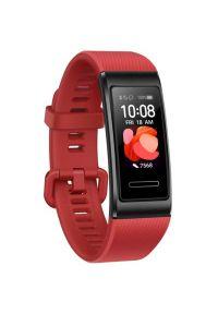Czerwony zegarek HUAWEI cyfrowy