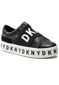 Czarne sneakersy DKNY