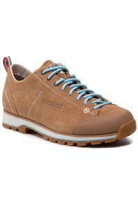 Brązowe buty trekkingowe Dolomite