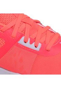 Pomarańczowe buty do biegania Under Armour z cholewką