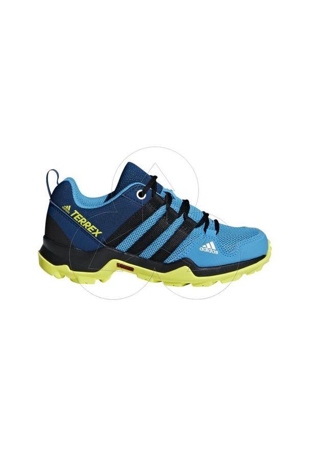 Buty trekkingowe Adidas Adidas Terrex, wąskie, z nadrukiem, z cholewką