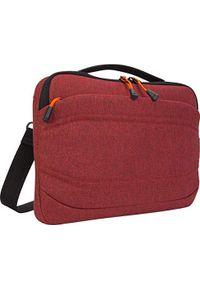 Czerwony plecak na laptopa TARGUS