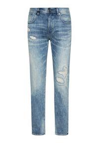 Armani Exchange Jeansy 3KZJ13 Z1LMZ 1500 Niebieski Slim Fit. Kolor: niebieski