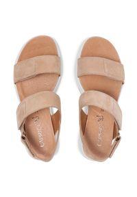Beżowe sandały Caprice