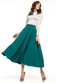 Zielona długa spódnica Tessita