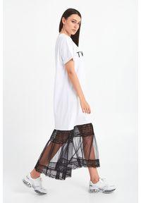 Sukienka TwinSet z aplikacjami, maxi