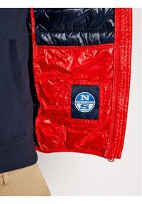 Czerwona kurtka puchowa North Sails #6