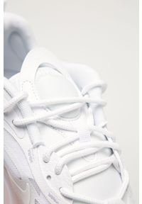 Białe sneakersy Nike Sportswear z okrągłym noskiem, z cholewką, Nike Air Max