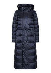 Niebieski płaszcz zimowy Geox