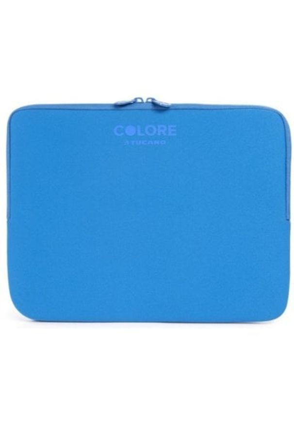 Niebieskie etui na laptopa TUCANO klasyczne, w kolorowe wzory