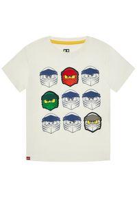 Biały t-shirt LEGO Wear