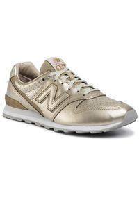 Złote buty sportowe New Balance New Balance 996