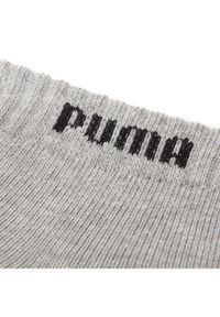 Puma Zestaw 3 par niskich skarpet unisex 90682903 Szary. Kolor: szary