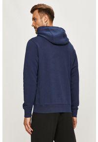Nike Sportswear - Bluza. Typ kołnierza: kaptur. Kolor: niebieski. Materiał: dzianina