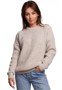 Sweter długi, klasyczny