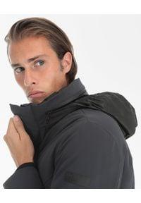 Hetrego - HETREGO - Szara kurtka puchowa Connor. Kolor: szary. Materiał: puch
