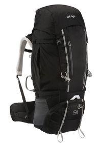Vango plecak trekkingowy Sherpa 60:70S Shadow Black. Kolor: czarny. Wzór: napisy