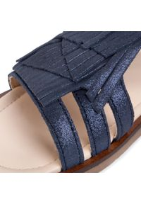 Niebieskie sandały Mayoral na co dzień, z aplikacjami, casualowe