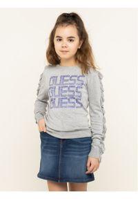 Guess Sweter J94R04 Z2JB0 Szary Regular Fit. Kolor: szary