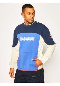 Napapijri Bluza Bhell C NP0A4E88B Granatowy Regular Fit. Kolor: niebieski