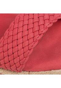 Refresh - Espadryle REFRESH - 69485 Red. Okazja: na co dzień. Kolor: czerwony. Materiał: skóra ekologiczna, skóra. Sezon: lato. Obcas: na obcasie. Styl: casual. Wysokość obcasa: średni