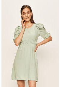 Miętowa sukienka Haily's midi, casualowa