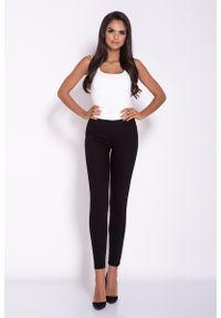 Czarne spodnie z wysokim stanem Dursi eleganckie