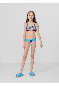 4f - Kostium kąpielowy dziewczęcy (122-164). Kolor: wielokolorowy. Materiał: materiał