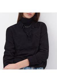 Czarna koszula Sinsay