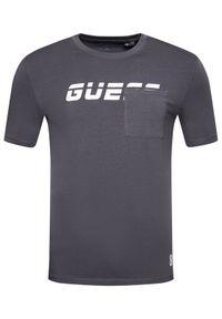 Guess T-Shirt U1GA22 J1311 Szary Regular Fit. Kolor: szary