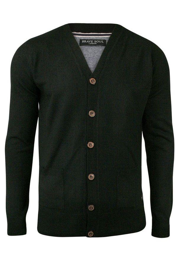 Czarny sweter Brave Soul na co dzień, elegancki