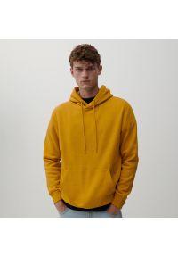 Reserved - Bluza z kapturem - Żółty. Typ kołnierza: kaptur. Kolor: żółty