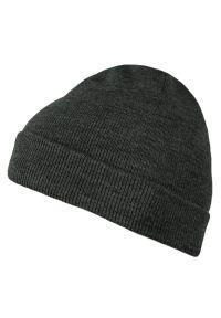 Szara czapka Brave Soul na zimę