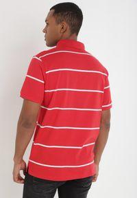 Czerwona koszulka polo Born2be