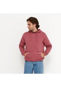 House - Bluza oversize z kapturem - Różowy. Typ kołnierza: kaptur. Kolor: różowy