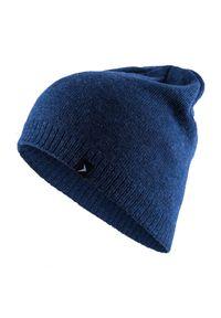 Niebieska czapka zimowa outhorn melanż